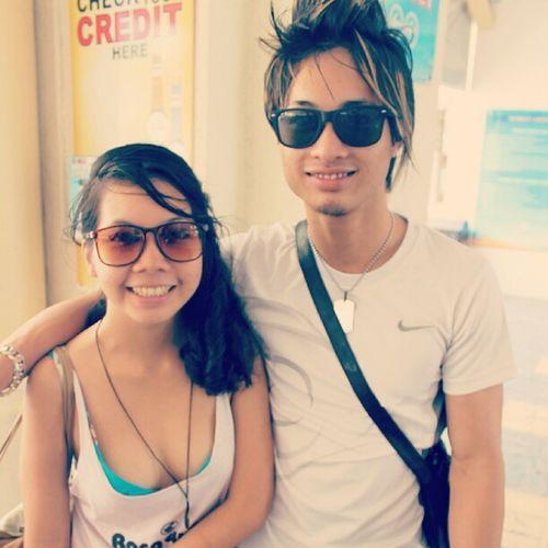 With Sam
