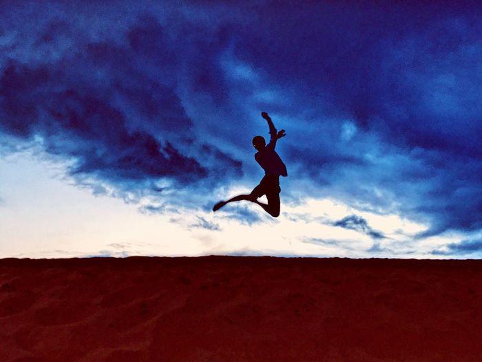 Sky Cloud - Sky Mid-air Jumping