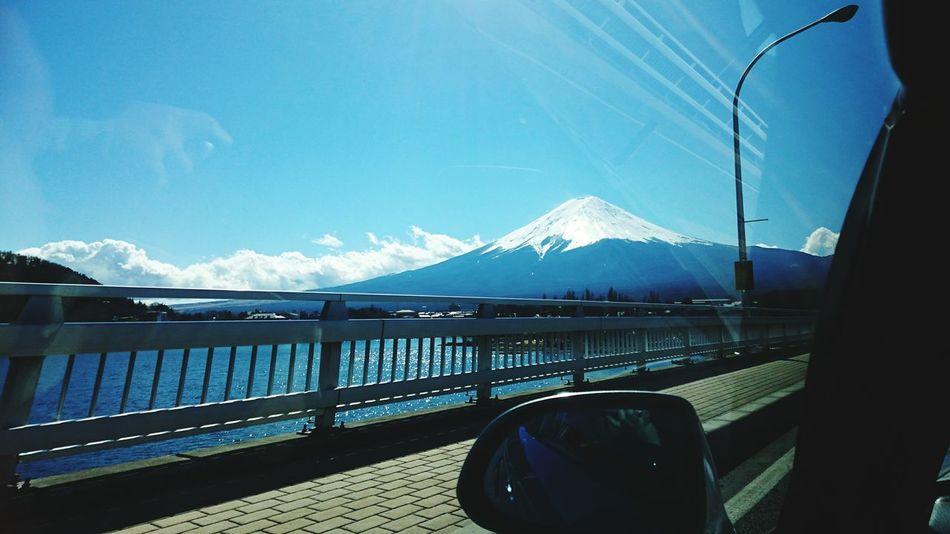 山梨県 富士山 Dateday Drive Fujisan キラキラ光ってました♡