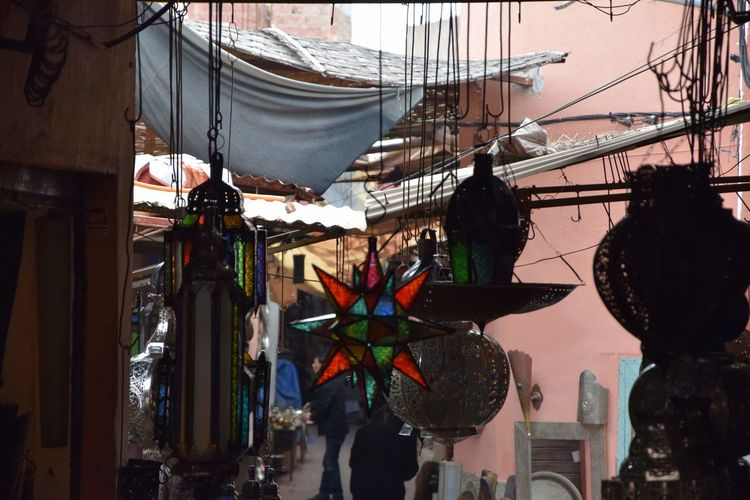 Chandelier's World's Bazaars Photography Metal - Material Handmade Glass - Material World's Bazaars Photography Hanging City Decoration Art And Craft