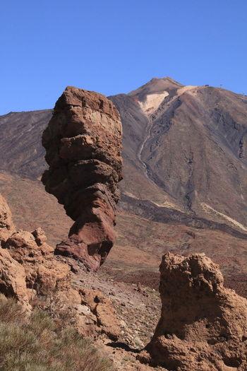 Nature as artist the roque cinchado is a 27-metre high rock pillar