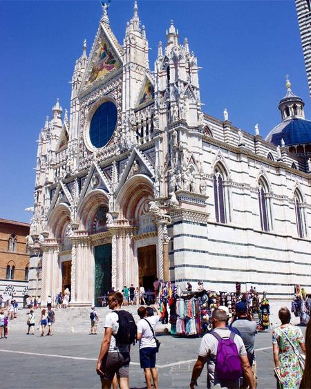 Duomo di Santa Maria Assunta Italy Photography Cattedrale Tuscany Siena Church Religion Large Group Of People Place Of Worship Spirituality Architecture Built Structure Building Exterior Tourism Real People Travel Destinations Vacations