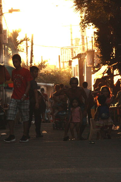 Cebu City Cebu Philippines City Sunset Poor Families Poor People  Street Photography Sunset Urban Life