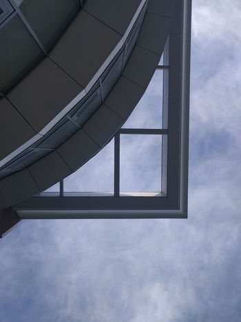 Cloud - Sky Futuristic Architecture Architecture Sky Steel Built Structure No People Day Outdoors