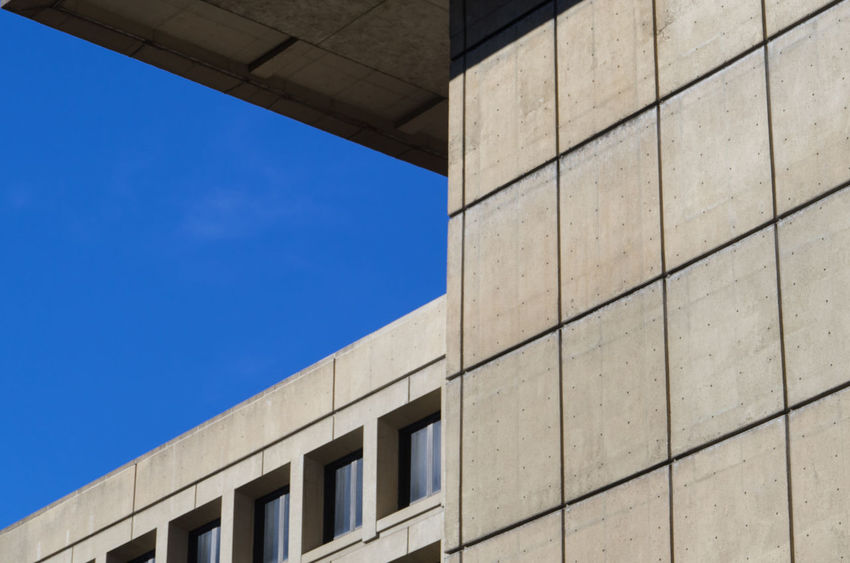Architecture Brutalism Building Built Structure City City Life DC District Of Columbia Geometric Shape J Edgar Hoover Low Angle View Modern No People Washington DC
