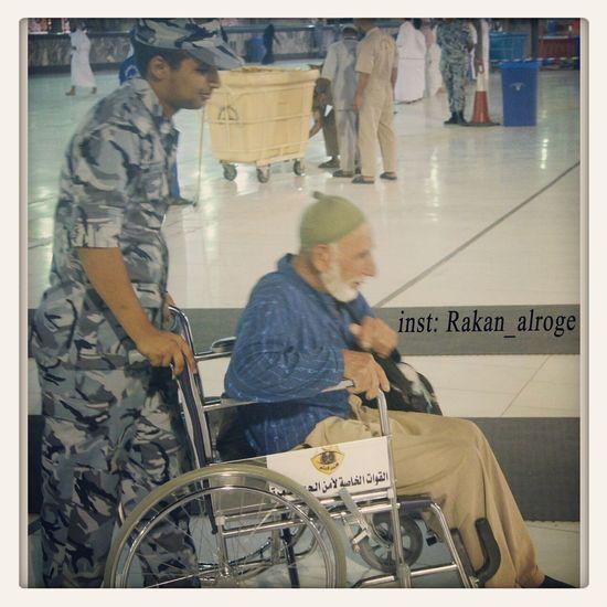 Saudi forces service Muslims in makkah