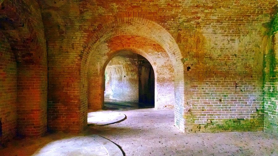 Fort Pickens Civil War Civilwarfort Architecture Interior Architecture