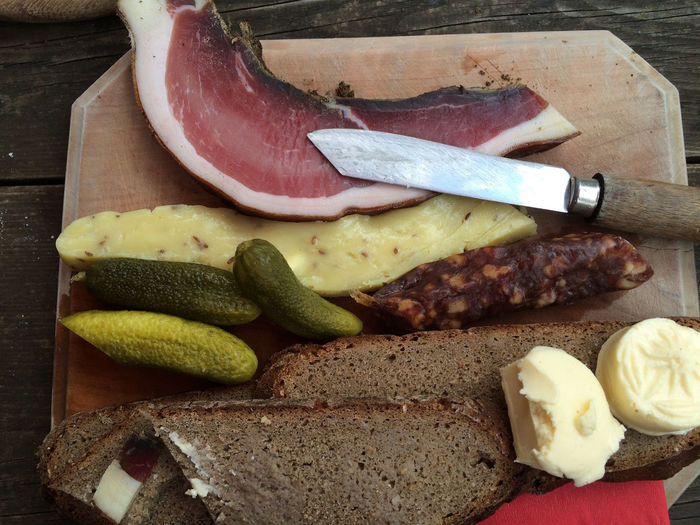 Alpine Austria Bread Butterfly Carinthia Cheese Composition Food Food And Drink Indulgence Khife Kärnten Meal Meat Organic Plate Ready-to-eat Sausage Speck Temptation Vegetable