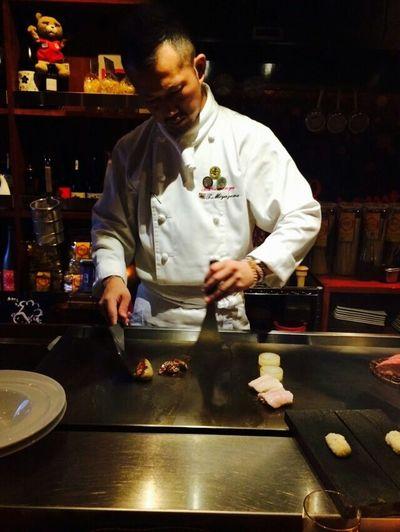 鉄板 Steak お肉 ばらもんや Yummy♡ Dinner