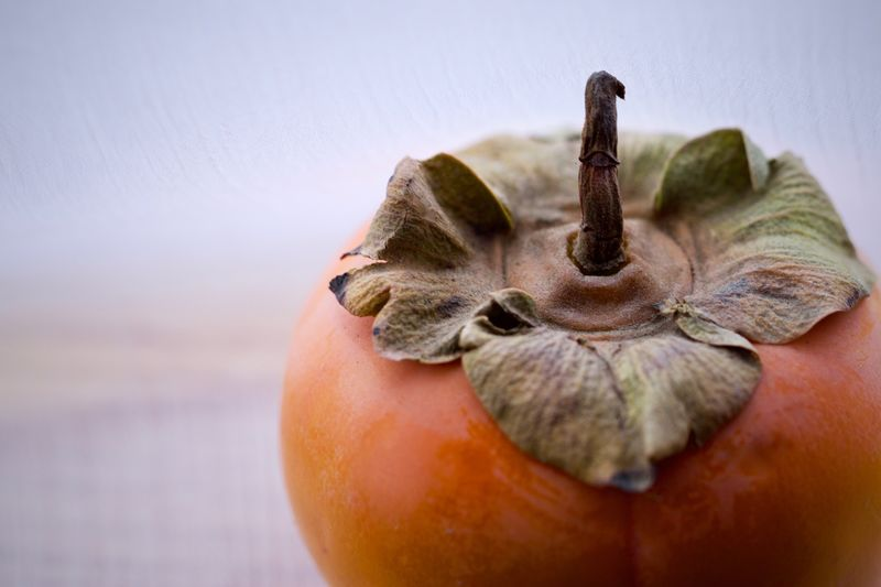 Close-up of persimmon
