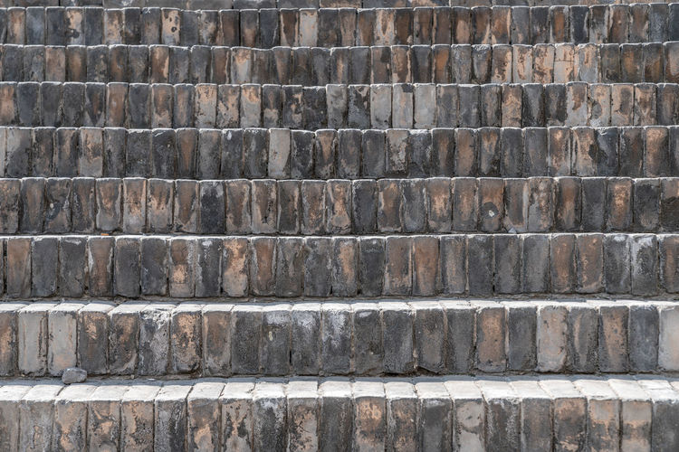 Steps paved with black brick in ancient China Ancient Ancient Times Architecture Steps Structure Textured  Ancient Buildings Blue Bricks Wall China Ground Outdated Pastel Power Road Stairs Text Texture Backgrounds Full Frame Pattern Textured  No People Day Outdoors Rough Built Structure Wall - Building Feature Close-up Solid In A Row Wood - Material Repetition Side By Side Wall Arrangement Stack Concrete