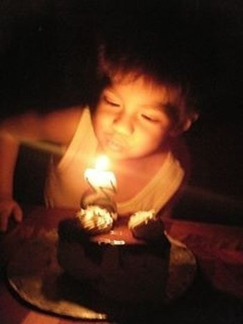 my boy :* Happy Birthday! Light And Shadow Bulbo Portrain