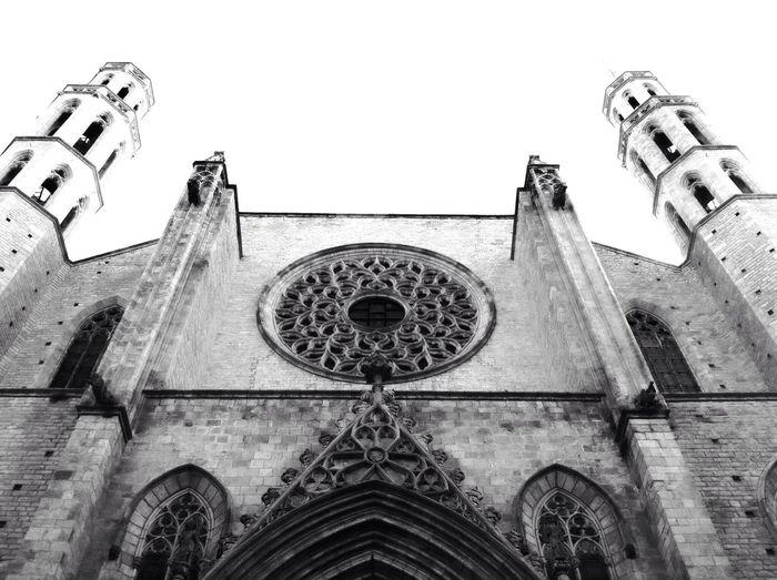 Blackandwhite Church
