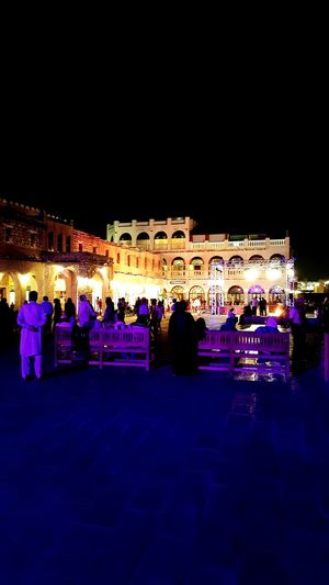 Night Travel City Illuminated Architecture Celebration Travel Destinations Built Structure People Large Group Of People Auditorium Sky Crowd Outdoors Ice Rink Adult Arabic Arabic Coffee Arabic Culture Arabic Architecture Qatari