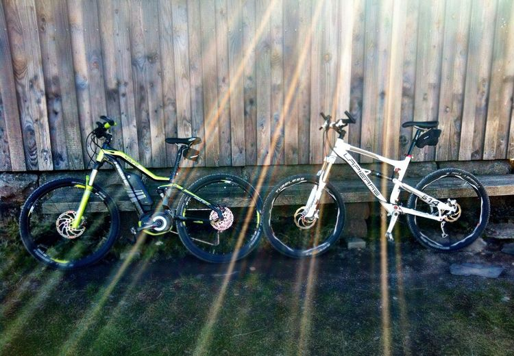 EyeEm Selects Bicycle Mode Of Transport Transportation Outdoors Bicycle Rack Mountainbikes