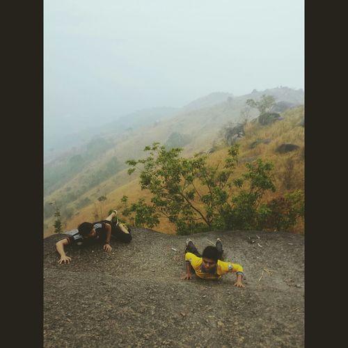 Climbing the hill? First Eyeem Photo Mountain Hiking Nature