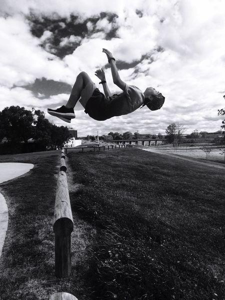 Mid-air Backflip Bestie  Motion