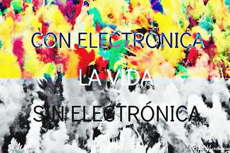 Electrónica <3 First Eyeem Photo