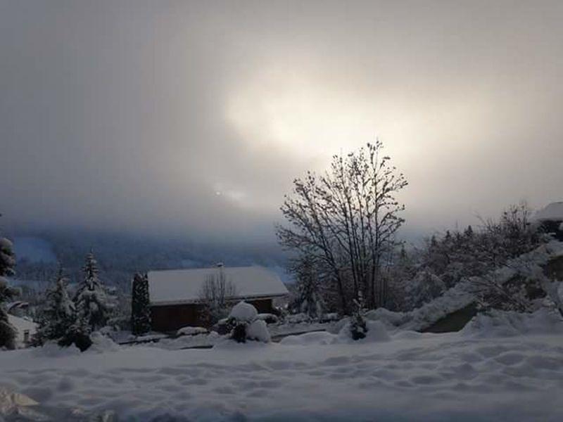 Bernex France Winter Wonderland Clouds And Sky