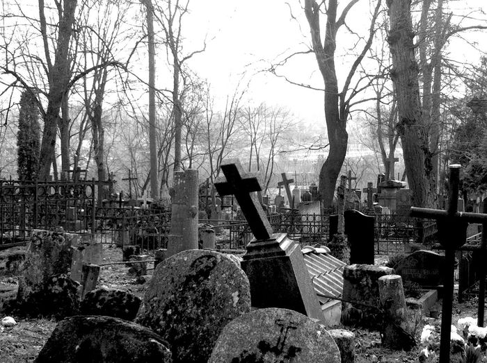 Cementery Graveyard Walking Around Vilnius Check This Out