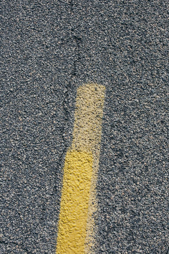 Asphalt Backgrounds Close-up Day Full Frame High Angle View No People Outdoors Road Textured  Transportation Yellow