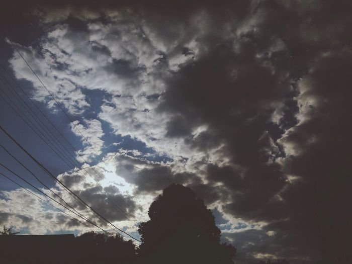 Look Up And Thrive Sky Clouds Sun