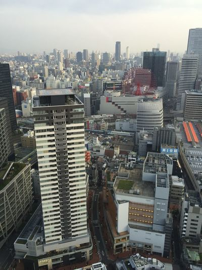 Hankyu From The Rooftop