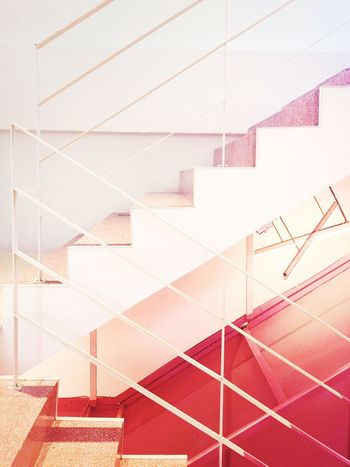 Architecture Steps And Staircases Staircase Built Structure Steps Indoors  No People Day Geometry Close-up Pin k