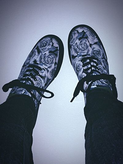 Shoes Roses Cool Colors Blue Dark