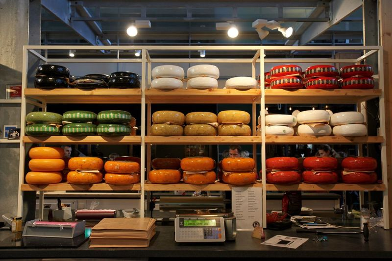 Rotterdam Market Cheese's. Shelf Food No People Indoors  Freshness Cheese Counter Travel Travel Photography Delicatessen