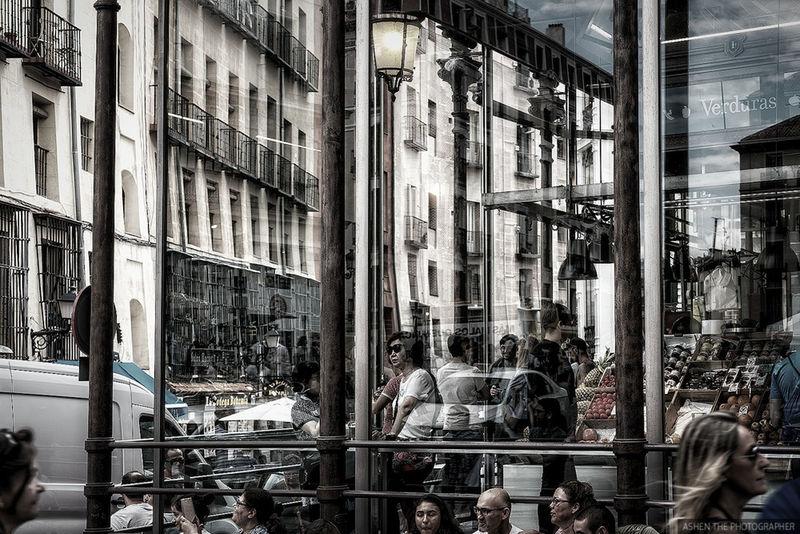Market in Madrid City City Life City Street Cityscape EyeEm EyeEm Best Edits EyeEm Best Shots EyeEm Nature Lover EyeEm Selects EyeEm Gallery EyeEmBestPics EyeEmNewHere Madrid Market Reflection SPAIN Building Building Exterior Built Structure Cityscapes People Real People Street Street Photography Streetphotography