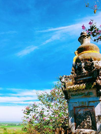 Pagoda Sky And