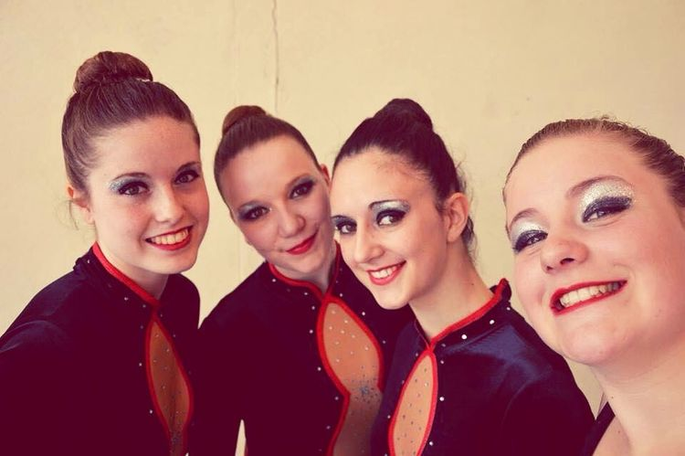 Competition Gymnastic Rythmic Girls French Sport