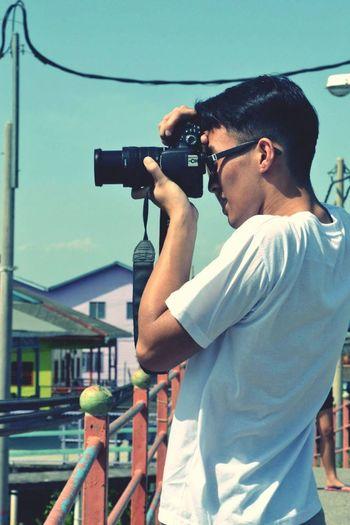 Photographer Crab Island Malaysia