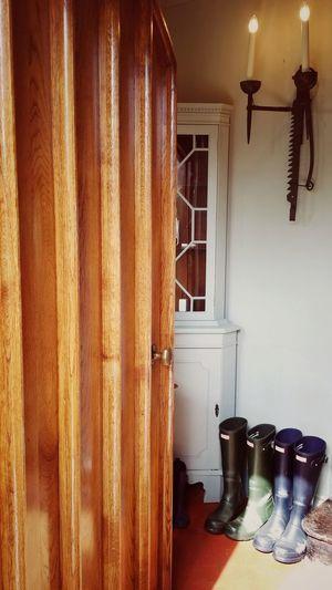Door Handle No People Tradition House Porch Wellington Boots Very British England England, UK British Wellies  Autumn Fall Open Door Wooden Door Old House Boots Domestic Room Curtain Window Hanging Architecture Doorknob Door Ajar Front Door Entry Open Door Door Handle Entryway