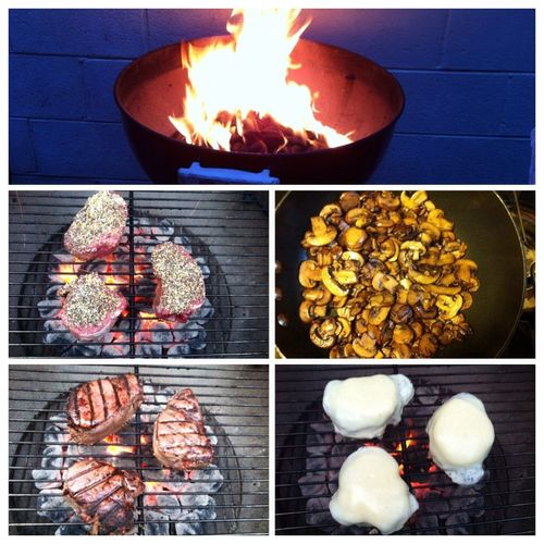 Fired up the grill last night ICanCookMyAssOff Nomnombomb TheExpensiveWinos MyFoodPics