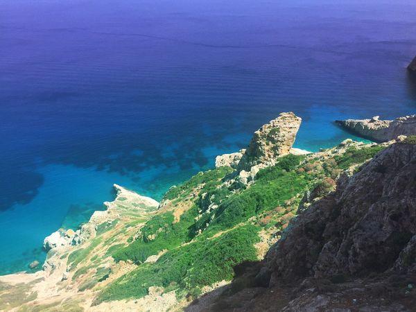 Greece Cyclades Folegandros Beach Bluecrush Bluelagoon Crystal Clear