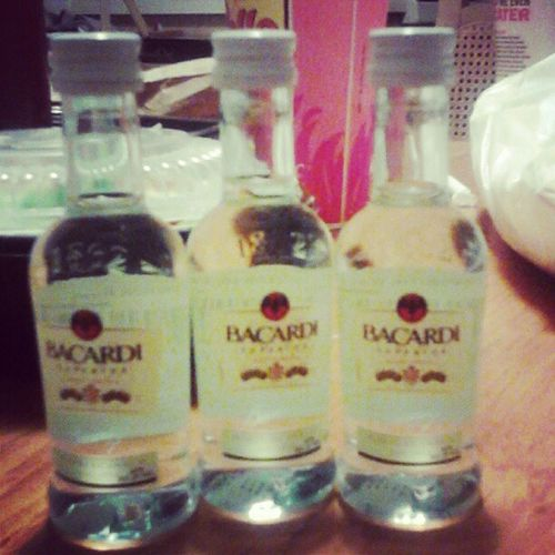 My first drink since 2010. #becardi #rum Rum Bacardi  Betcheslovethis Becardi