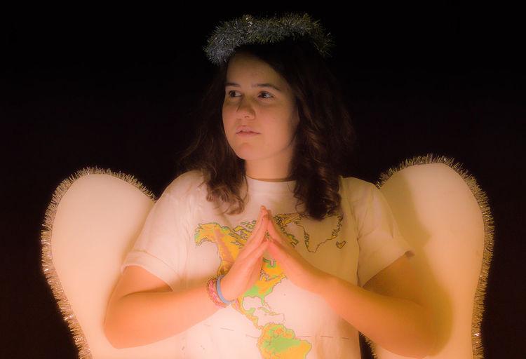 I am an angel!