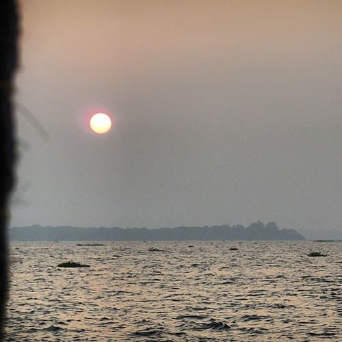 Text Moon Outdoors No People Day Sunset Sunset Silhouettes India Indian Culture  Water Boat ⛵️ Reflection Sun Reflection Priceless Wood Kerala India Kerala Beautyfullsunset Beauty Of Nature Beauty Of Montenegro First Eyeem Photo