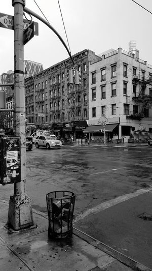 Hell's Kitchen Blackandwhite Black And White Black & White City Outdoors Yellow Taxi Walking Around Smartphone Photography NYC NYC Photography Travel Destinations City Street USA Hells Kitchen  Welcome To Black