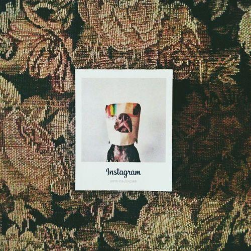 Lo que nos trajo el cartero hoy a casa ¡Gracias de nuevo, @instagram! Communityfirst Instagramcalendar