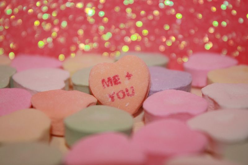 Me + You Me+you Sparkles Candy Candy Hearts Hearts Love Valentine's Day
