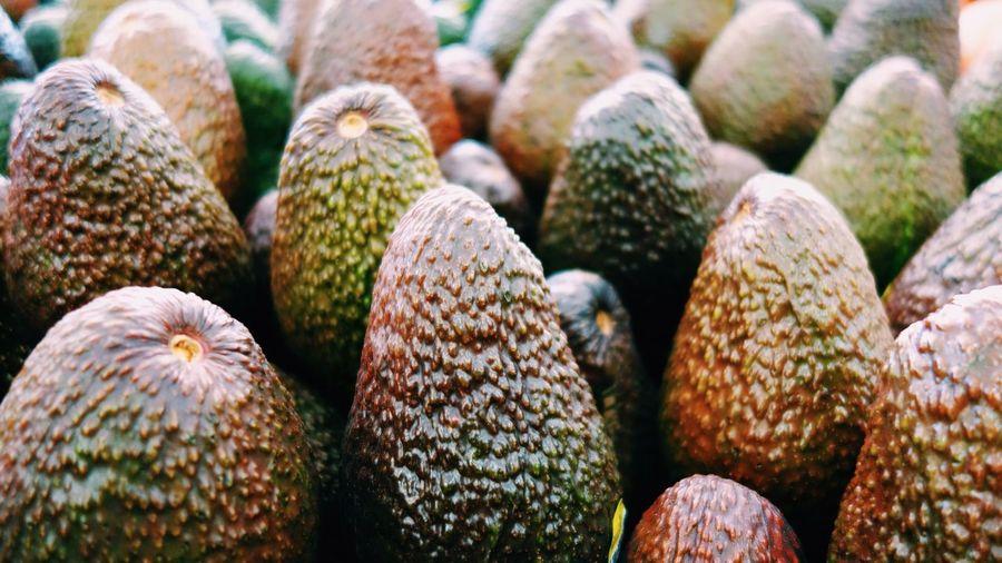 Full frame shot of avocado at market