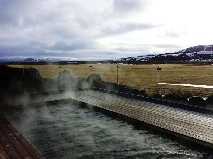 Ion Hotel Iceland Iceland Memories Icelandtrip Geothermal  Geothermal Spa Pool Fireandice Volcanic