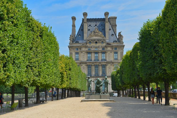 Louvre Architecture Building Building Exterior Built Structure Day Façade Footpath Growth History Incidental People Louvremuseum Mansion Museum Museums Nature Outdoors Palace Plant Sky The Past Travel Travel Destinations Tree