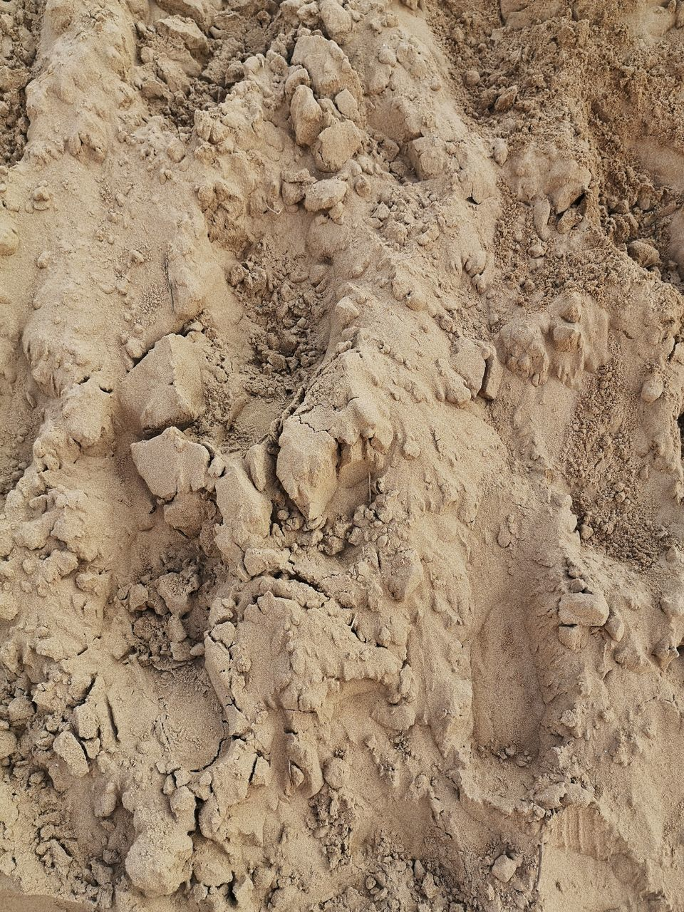 dirt, no people, high angle view, land, full frame, mud, nature, day, close-up, backgrounds, paw print, pattern, outdoors, dirty, sand, animal track, textured, environment, landscape, tranquility, climate, arid climate
