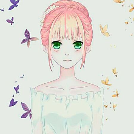 Soft Elegance Animegirl Animesketch  Anime Art Animekawaii Animex 2016 First Eyeem Photo