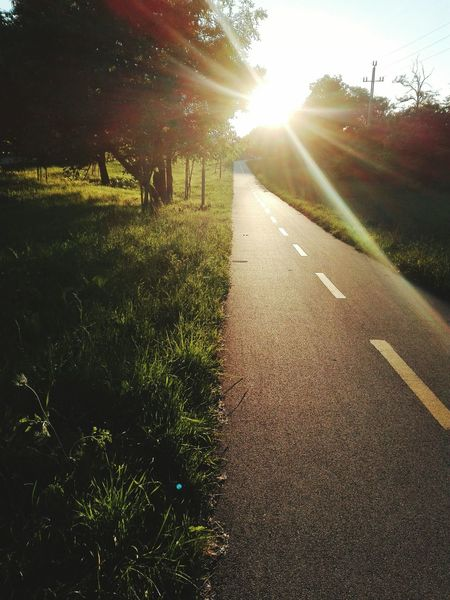 Colour Of Life,Athleisure,Adventure Club, Leaving The Bicycle Road Hungary I <3 You Bicycle Road Sunset_collection Sylouette No People 😇😇😇 Sunset_collection Sunset Silhouettes. sunset #sun #clouds #skylovers #sky #nature #beautifulinnature #naturalbeauty photography landscape