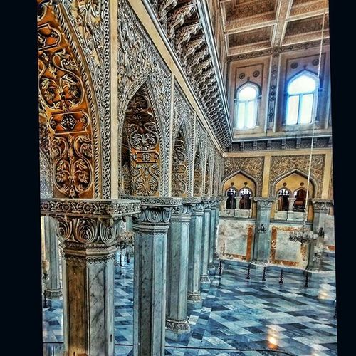 Hyderabad Chowmalla palace Nizam Royal palace Kaman ZOOMER Art Historicalplace Indiaclicks India
